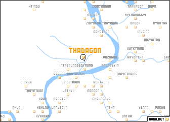 map of Thadagon