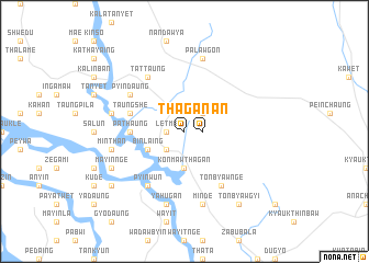 map of Thagan