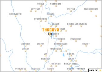 map of Thagaya