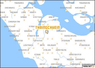 map of Thaingchwein
