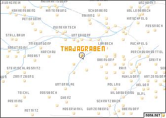 map of Thajagraben