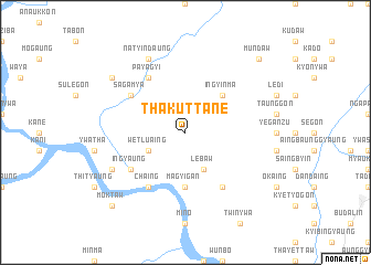 map of Thakuttane