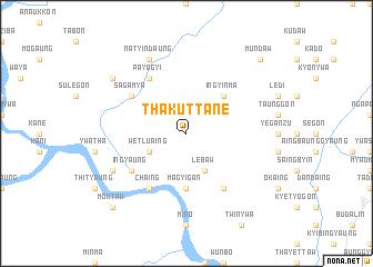 map of Thakuttane