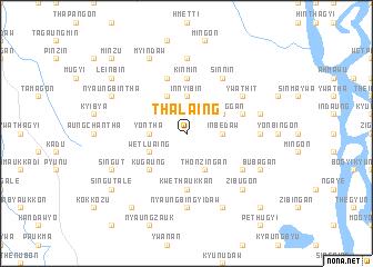 map of Thalaing