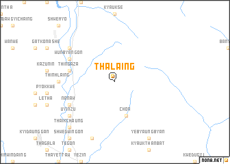 map of Thalaing