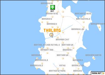 map of Thalang