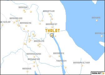 map of Thalat