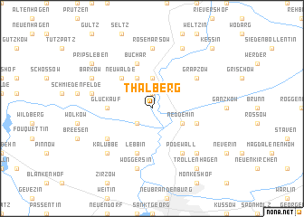 map of Thalberg