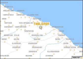 map of Thalerón