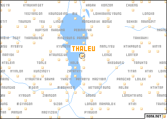 map of Thale-u