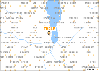 map of Thale