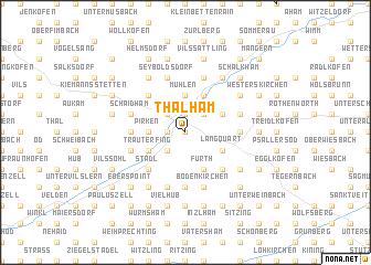 map of Thalham