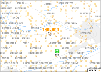 map of Thalham