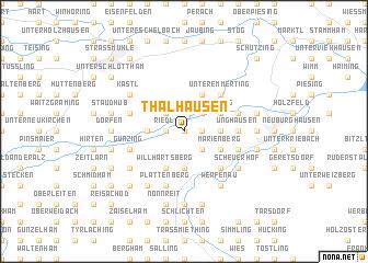 map of Thalhausen