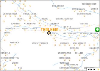 map of Thalheim