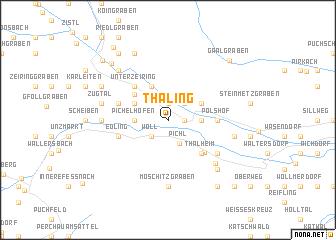 map of Thaling