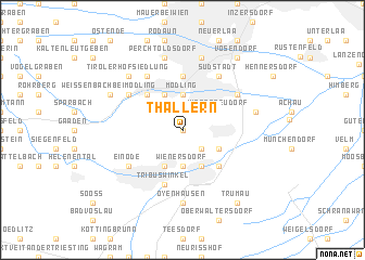 map of Thallern