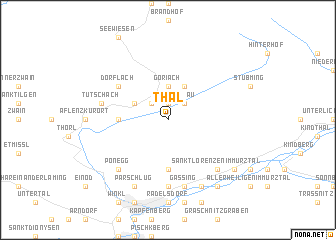 map of Thal