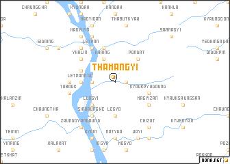 map of Thamangyi