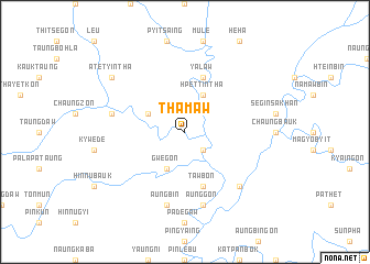 map of Thamaw
