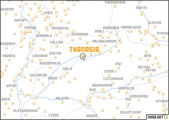map of Thanásia