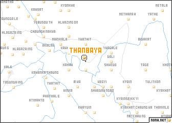 map of Thanbaya