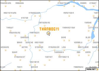 map of Thanbogyi