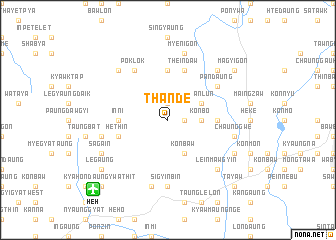 map of Thande