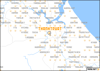 map of Thanh Truật