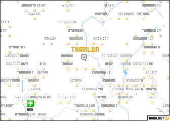 map of Thanlun