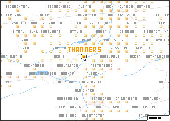 map of Thanners