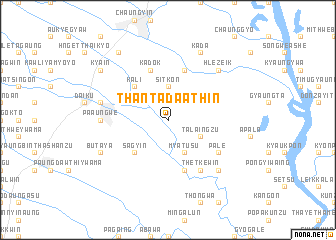 map of Thantada Athin