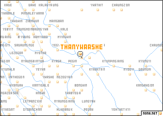 map of Thanywa Ashe