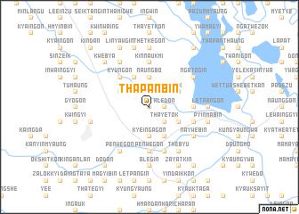 map of Thapanbin