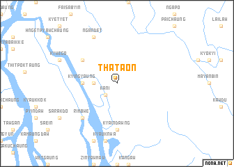 map of Thataon