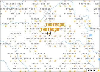 map of Thategon