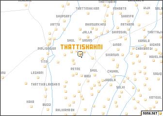 map of Thatti Shāhni