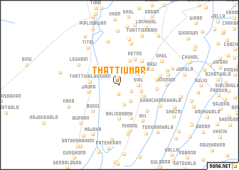 map of Thatti Umar