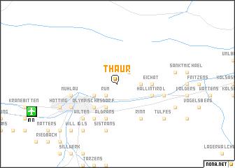 map of Thaur