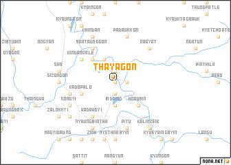 map of Thayagon