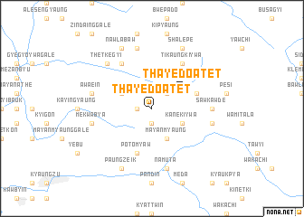 map of Thayedo-atet