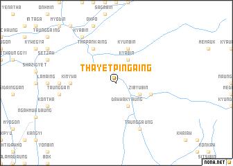 map of Tha-yet-pin-gaing
