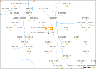 map of Thazi