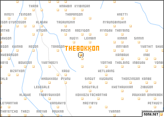 map of Thebokkon