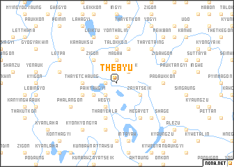 map of Thebyu