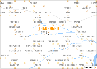 map of Thedawgan