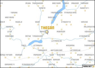 map of Thegan