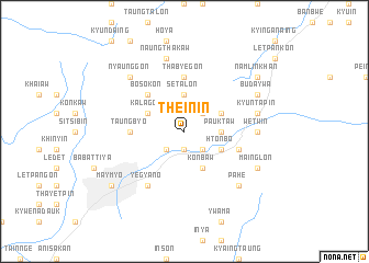 map of Thein-in