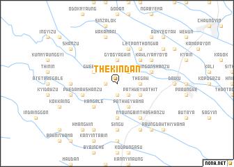 map of Thè Kindan