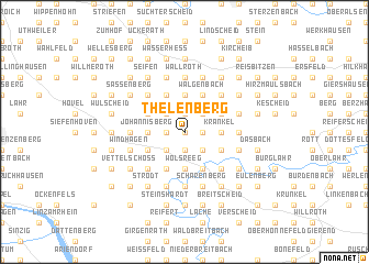 map of Thelenberg